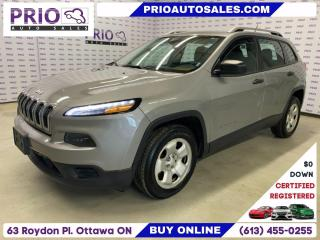 Used 2015 Jeep Cherokee FWD 4DR SPORT for sale in Ottawa, ON