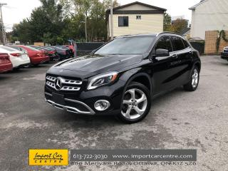 Used 2018 Mercedes-Benz GLA PANORAMIC ROOF  NAVI  BLIS  HTD SEATS  BACKUP CAM for sale in Ottawa, ON