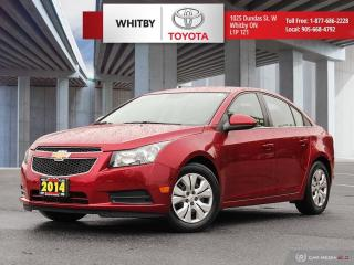 Used 2014 Chevrolet Cruze 1LT for sale in Whitby, ON