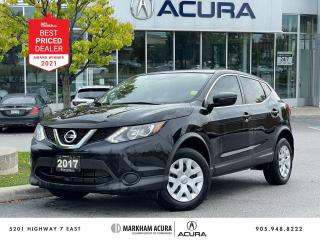 Used 2017 Nissan Qashqai S FWD for sale in Markham, ON