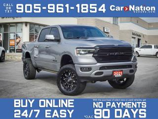 Used 2021 RAM 1500 Sport Night| LIFTED| UPGRADED EXHAUST, RIMS &TIRES for sale in Burlington, ON