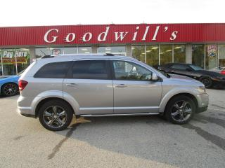 Used 2015 Dodge Journey CROSSROAD! 7 PASSENGER! for sale in Aylmer, ON