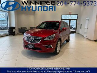 Used 2017 Buick Envision PREMIUM I - AWD, Blind spot monitoring, Leather seating, Sunroof, Lane keep assist for sale in Winnipeg, MB