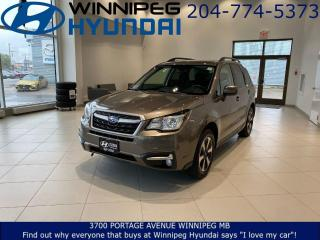 Used 2017 Subaru Forester I TOURING - Power tailgate, Sunroof,  Rearview camera, Heated seats for sale in Winnipeg, MB