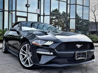 Used 2019 Ford Mustang ECOBOOST|CNVRTBL|ALLOYS|VENTED MEMORY SEATS|DIGITAL CLUSTER| for sale in Brampton, ON