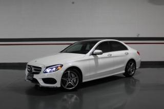 Used 2016 Mercedes-Benz C-Class C300 4MATIC I AMG I NO ACCIDENTS I NAVIGATION I PANOROOF for sale in Mississauga, ON