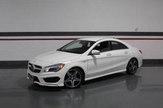Used 2016 Mercedes-Benz CLA-Class CLA250 4MATIC SPORT AMG I NO ACCIDENTS I NAVIGATION for sale in Mississauga, ON