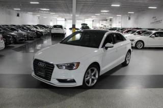 Used 2016 Audi A3 NO ACCIDENTS I LEATHER I SUNROOF I HEATED SEATS I BLUETOOTH for sale in Mississauga, ON