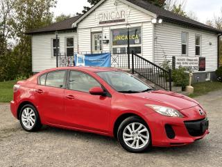 Used 2012 Mazda MAZDA3 GS Bluetooth Heated Seats Gas Saver Power Group for sale in Sutton, ON