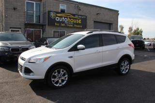 Used 2013 Ford Escape SEL ECO BOOST NO ACCIDENT LEATHER SEAT NAVI BACKUP ASSIST for sale in Newmarket, ON
