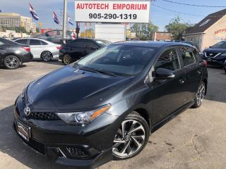 Used 2018 Toyota Corolla iM Collision Detection,Lane Departure/Camera/GPS* for sale in Mississauga, ON