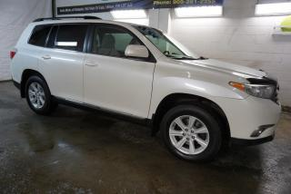 Used 2013 Toyota Highlander V6 SPORT 4WD 7 PASSENGER CERTIFIED ALLOYS CRUISE ROOF RACK CAMERA BLUETOOTH for sale in Milton, ON