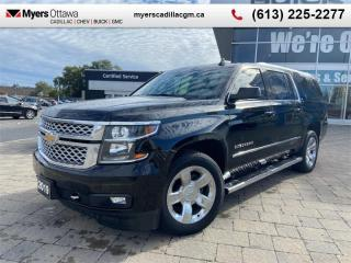 Used 2019 Chevrolet Suburban LT  LT, SUNROOF, 20'S, LEATHER, REAR BUCKETS SEATS, BOSE SOUND for sale in Ottawa, ON