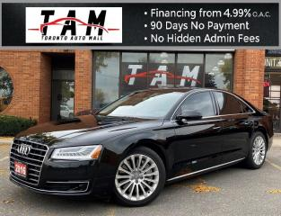 Used 2016 Audi A8 3.0T NAVI 360CAM Massage Seats HUD Clean Carfax Service History for sale in North York, ON
