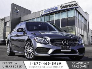 Used 2018 Mercedes-Benz C-Class AMG C 43 4MATIC 1OWNER CLEAN CARFAX for sale in Scarborough, ON