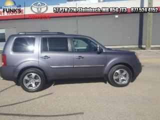 Used 2014 Honda Pilot 4WD 4DR EX-L  - Sunroof -  Leather Seats for sale in Steinbach, MB