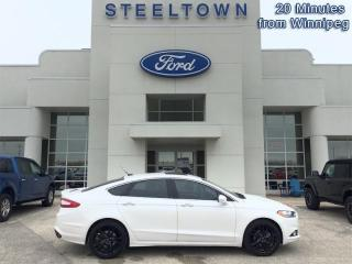 Used 2015 Ford Fusion Titanium  - Leather Seats -  Bluetooth for sale in Selkirk, MB