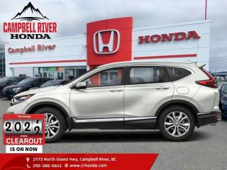 New 2021 Honda CR-V Touring  - Sunroof -  Navigation for sale in Campbell River, BC