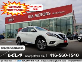 Used 2018 Nissan Murano SL AWD | 1 OWNR | CLN CRFX | NAV | PANO ROOF | 50K for sale in Georgetown, ON