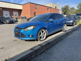 Used 2012 Ford Focus Titanium, AUTOMATIC, LEATHER SEATS, HEATED SEATS for sale in Toronto, ON