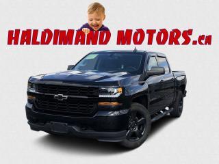 Used 2018 Chevrolet Silverado 1500 CUSTOM CREW 2WD for sale in Cayuga, ON