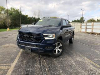 Used 2019 RAM 1500 SPORT QUAD CAB 4WD for sale in Cayuga, ON