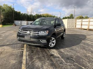 Used 2018 VW ATLAS HIGHLINE 4MOTION AWD for sale in Cayuga, ON