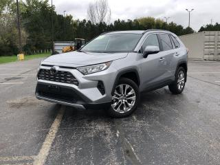 Used 2021 Toyota RAV4 LIMITED AWD for sale in Cayuga, ON
