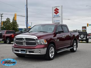 Used 2017 RAM 1500 SLT Crew Cab 4x4 ~Nav ~Cam ~Heated Seats + Wheel for sale in Barrie, ON