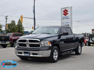 Used 2018 RAM 1500 ST Quad Cab 4x4 ~Bluetooth ~Camera ~Trailer Tow for sale in Barrie, ON