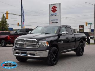 Used 2017 RAM 1500 ST Quad Cab 4x4 ~HEMI ~Trailer Tow ~Tonneau Cover for sale in Barrie, ON