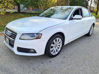 Used 2012 Audi A4 4dr Sdn Auto Quattro 2.0T Premium Edition for sale in Mississauga, ON