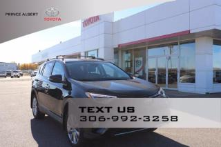 Used 2017 Toyota RAV4 LIMITED  for sale in Prince Albert, SK