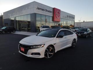 Used 2019 Honda Accord Sedan SPORT 2.0 for sale in Kingston, ON