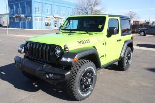 New 2021 Jeep Wrangler Willys for sale in Swift Current, SK