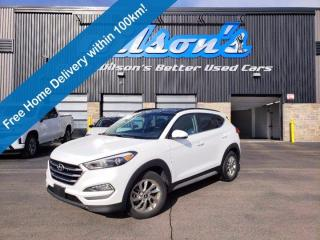 Used 2017 Hyundai Tucson SE AWD, Leather, Panoramic Sunroof, Heated Wheel + Seats, Blind Spot Warning and more! for sale in Guelph, ON