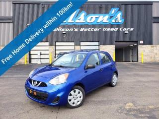 Used 2015 Nissan Micra S, Hatchback, Auto, A/C, Aux-Input, Cruise! for sale in Guelph, ON