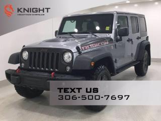 Used 2018 Jeep Wrangler JK Unlimited Rubicon Recon | Leather | Navigation | for sale in Regina, SK