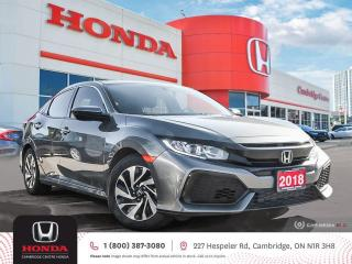 Used 2018 Honda Civic LX APPLE CARPLAY™ & ANDROID AUTO™ | REARVIEW CAMERA | HEATED SEATS for sale in Cambridge, ON