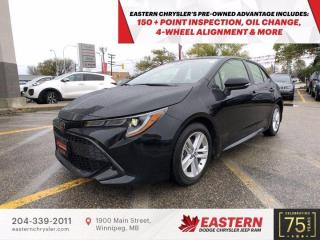 Used 2019 Toyota Corolla Hatchback | No Accidents | for sale in Winnipeg, MB