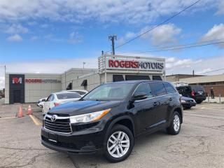 Used 2016 Toyota Highlander 3.99% Financing - LE AWD - 8 PASS - REVERSE CAM for sale in Oakville, ON