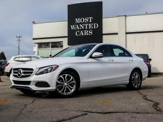 Used 2017 Mercedes-Benz C 300 4MATIC | NAV | PANO | CAMERA | BLIND for sale in Kitchener, ON