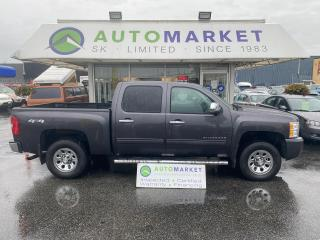Used 2010 Chevrolet Silverado 1500 LS Crew Cab 4WD INSPECTED! FREE BCAA & WRNTY! NEW BRAKES! NO ACCIDENTS! for sale in Langley, BC