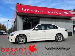 Used 2018 BMW 3 Series PHEV, MSport, Backup Cam, Leather, Low KMs, Nav!! for sale in Surrey, BC