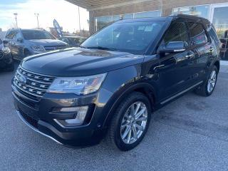 Used 2017 Ford Explorer LIMITED BCAMERA LEATHER PANOROOF for sale in Calgary, AB