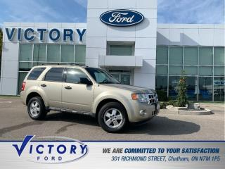 Used 2010 Ford Escape XLT Automatic XLT | EXCELLENT CONDITION | CRUISE CONTROL for sale in Chatham, ON