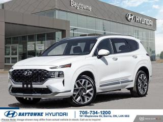 New 2022 Hyundai Santa Fe Ultimate Calligraphy AWD 2.5T for sale in Barrie, ON