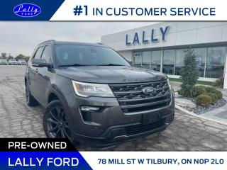 Used 2018 Ford Explorer XLT, Nav, AWD, Local Trade!! for sale in Tilbury, ON