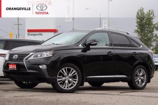 Used 2014 Lexus RX 350 RX350, AWD, HEATED/VENTILATED SEATS, HEATED STEERING, NAVIGATION, SUNROOF, BLUETOOTH for sale in Orangeville, ON