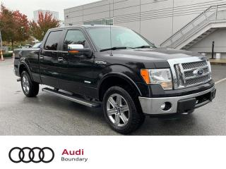 Used 2012 Ford F-150 LARIAT SuperCrew 4WD for sale in Burnaby, BC